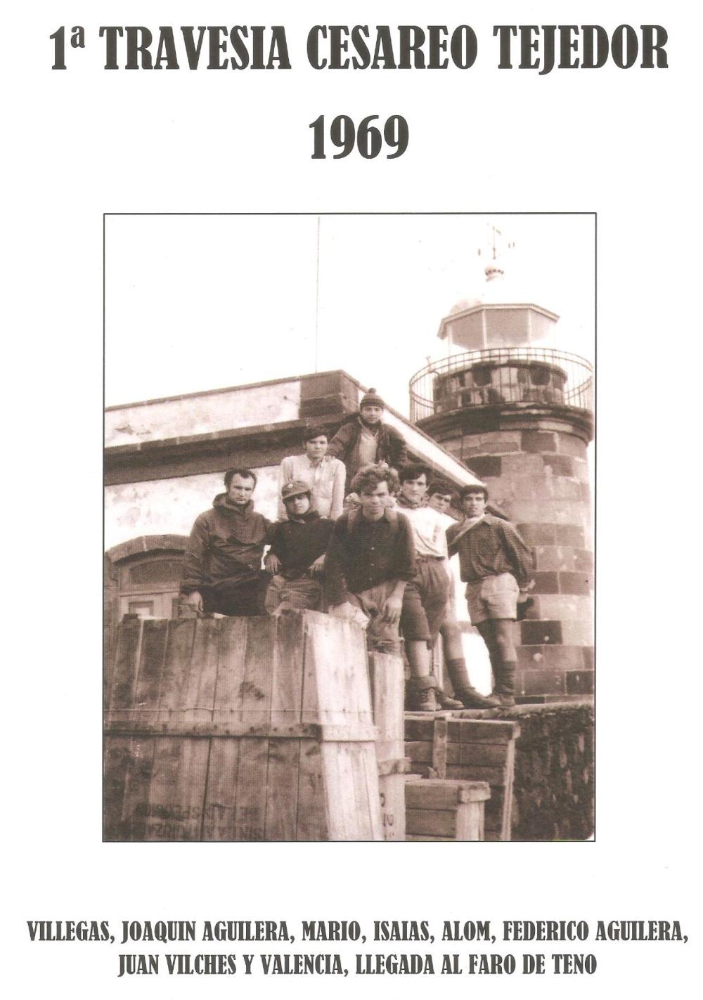 1ª travesía Faro a Faro1969